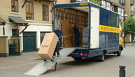 Removals in - Victoria Station, the Houses of Parliament, Vauxhall Bridge, Pimlico